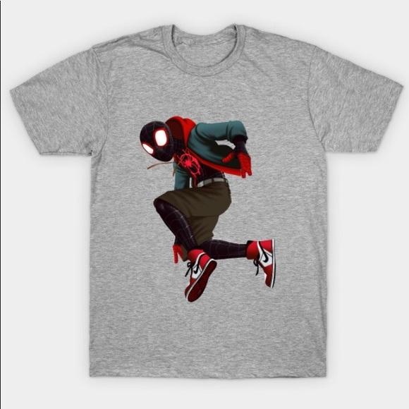 Gildan Other - Spider-Man into the spider-verse T-shirt
